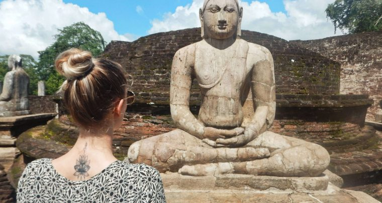 Cultuur opsnuiven in Polonnaruwa
