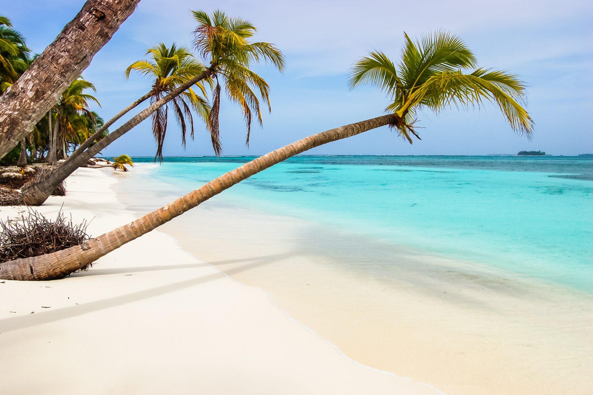Isla Chirime in the San Blas archipelago off the Caribbean coast of Panama