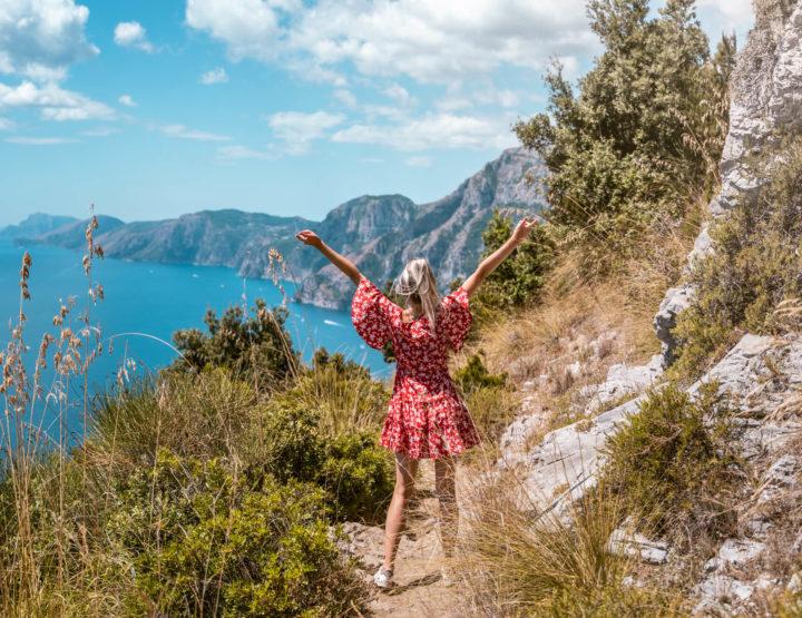 Hoe we verdwaalden op het pad der goden richting Positano