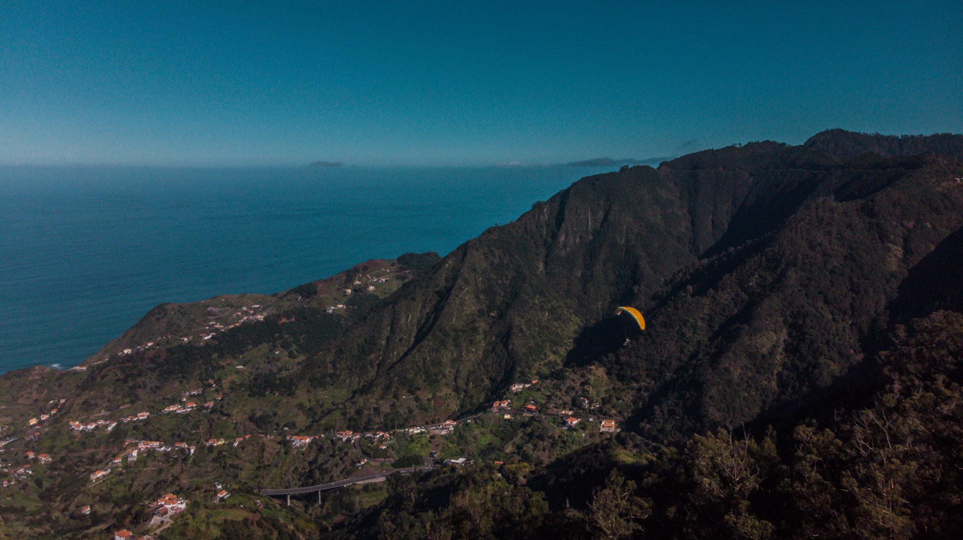 Paragliden op Madeira