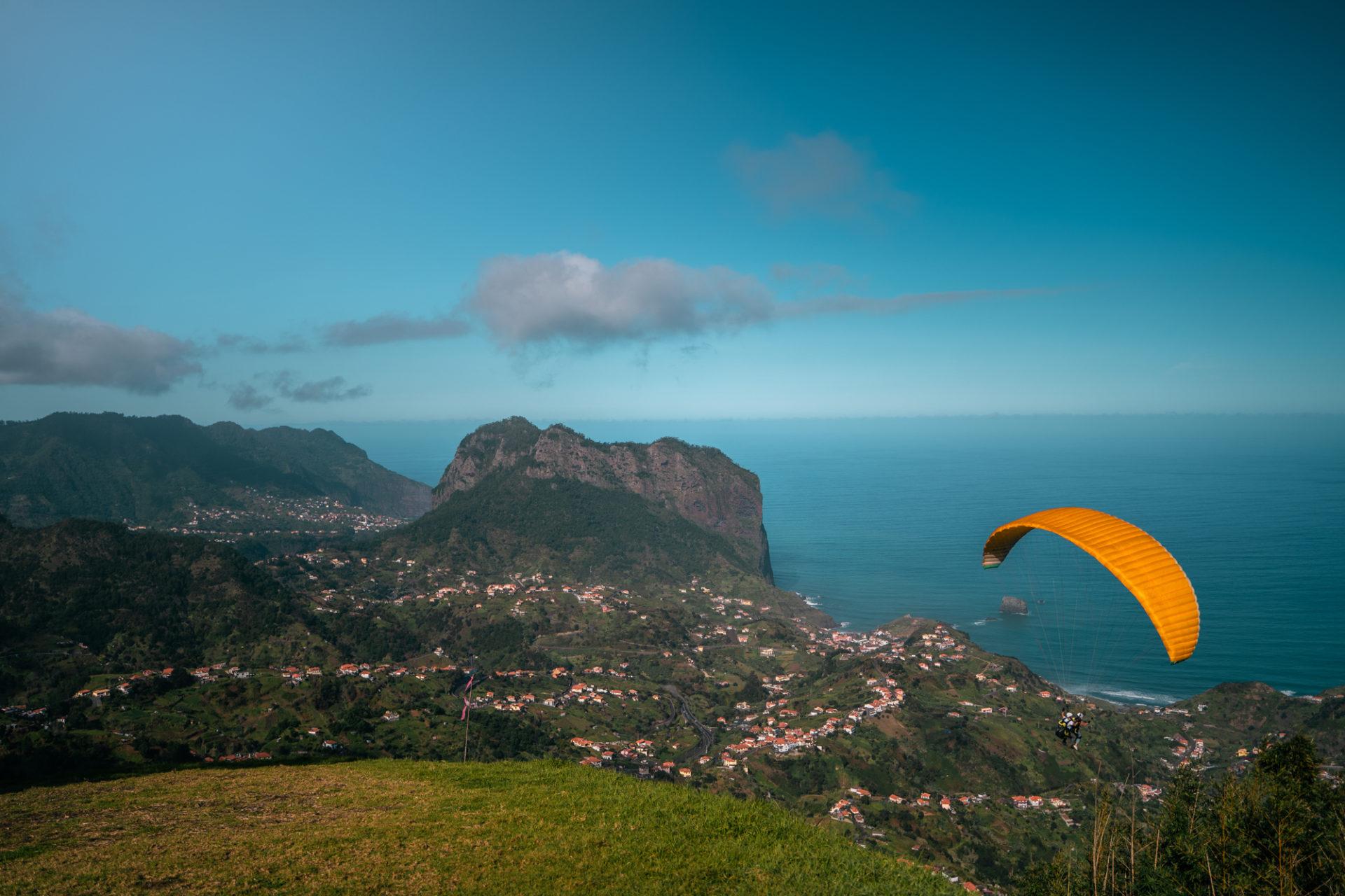 Paragliden op Madeira reisblog