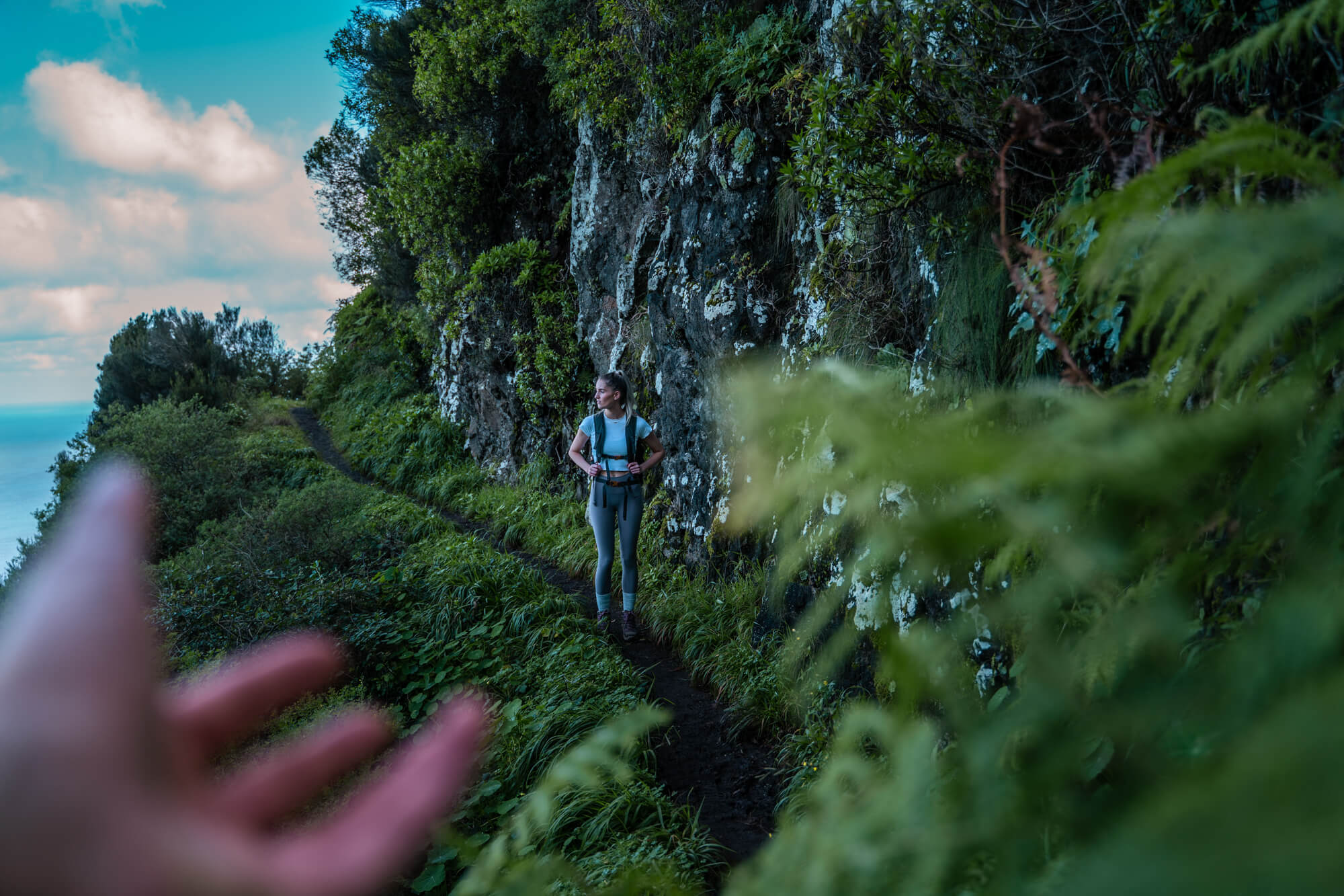 Vereda Do Larano kustwandeling hike Madeira