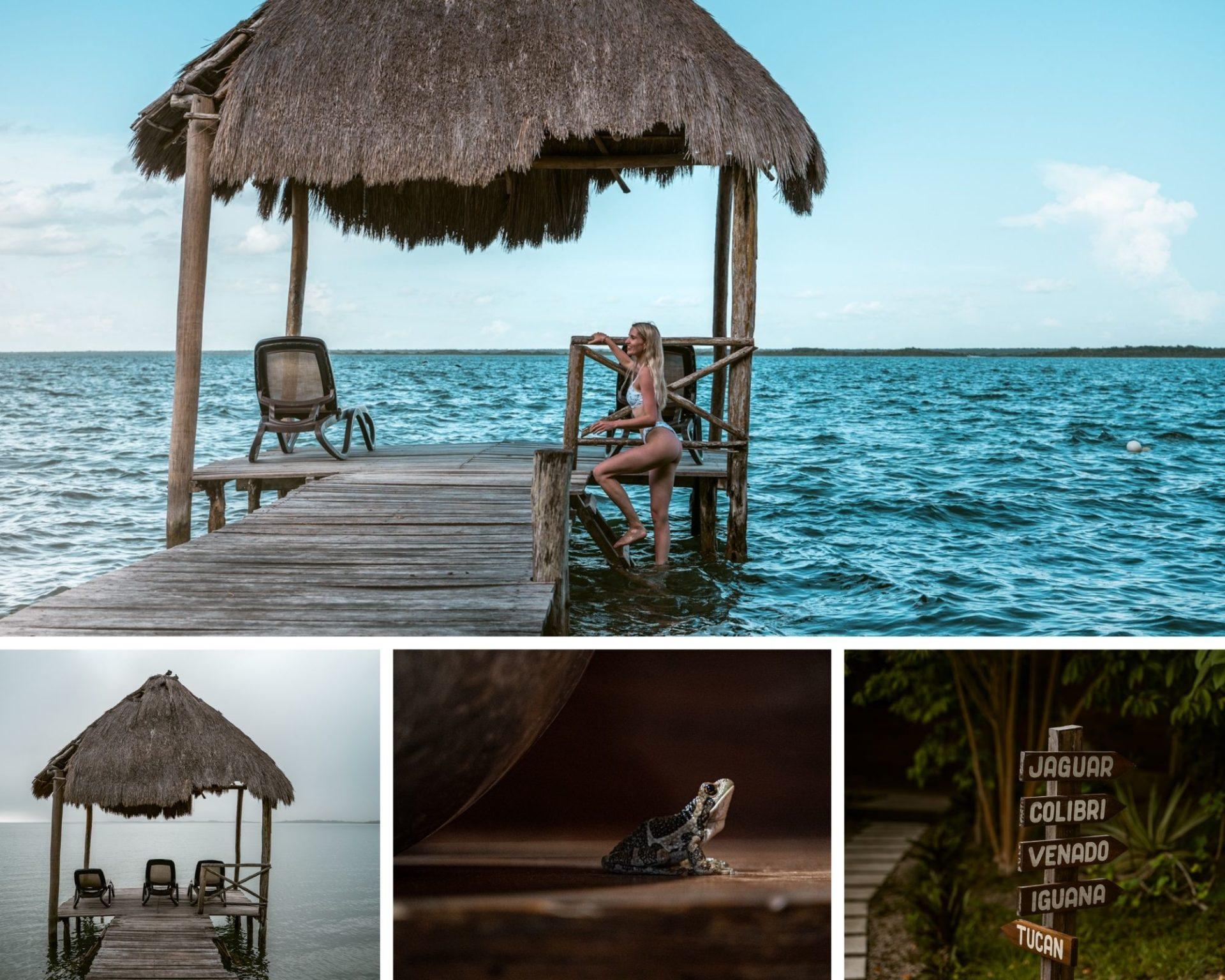 Boa Boa Bacalar mooiste accomodaties aan het meer in Bacalar